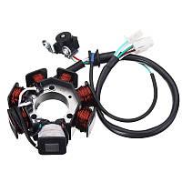 Генератор катушки статора Magneto для Yamaha YBR125 YBR 125 2002-2013 03 04 05 06 07