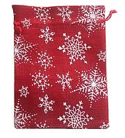 Подарочный новогодний мешочек, 22*17 см