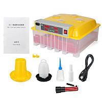 Инкубатор автоматический INC-36/144 на 36 куриных или 144 перепелиных яиц.