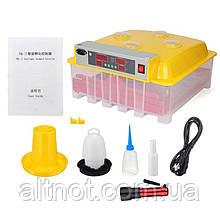 Автоматический инкубатор INC-36/144 на 36 куриных или 144 перепелиных яиц.