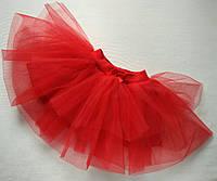 Пышная юбка с подъюбником (68-80 фатин)