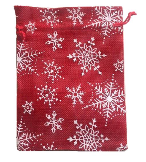 Подарочный новогодний мешочек