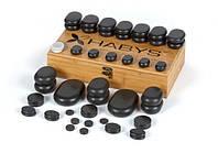 Набор бальзатовых камней для массажа 50 шт Habys