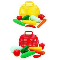 Сумочка с овощами, 8 предметов 04-465 Киндервей