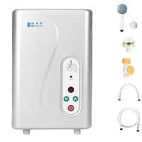 Электрическая горячая вода Нагреватель Система мгновенной душевой кабины Набор Tankless Water Нагреватель для Ванная комната Наборchen 220V