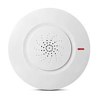 Беспроводная фотоэлектрическая сигнализация пожарной сигнализации Датчик для внутренней безопасности дома