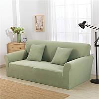 KCASA KC-PCP2 Жаккардовый утолщенный вязаный диван Чехлы из полиэстера Spandex Ткань Чехол Чехол из прозрачного прозрачного салона