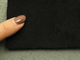 Ткань Antara (аналог Алькантары), цвет черный, на поролоне, Германия