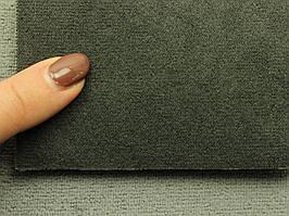 Ткань Antara (аналог Алькантары), цвет темно-серый, на поролоне, Германия