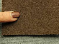 Ткань Antara (аналог Алькантары), цвет темно-коричневый, на поролоне, Германия