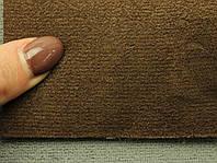 Ткань Antara (аналог Алькантары), цвет коричневый, на поролоне, Германия