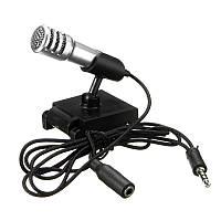 3,5 мм мини-ручная студия Speech Mic Skype Talk KTV Караоке поет Микрофон для iPhone Xiaomi