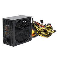 1600W Электростанция для горных выработок для 6 GPU Eth Rig Ethereum Coin Mining Miner Machines