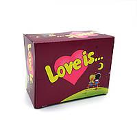 "Жвачка Love is — ""Блок жвачек Love is — ""Вишня-Лимон"" (блок 100 шт.)"