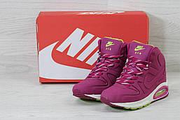 Кроссовки Nike Air Max 90  женские (розовые), ТОП-реплика