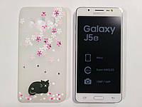 Чехол для смартфона Samsung Galaxy J5 2016 J510H кот