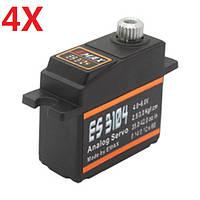 4X Emax ES3104 Analog Mini Сервопривод для модели RC