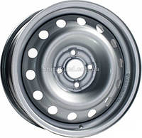 Стальные диски КрКз Daewoo (металлик) 5.0x13/4x100 D56.6 ET49 (Silver)