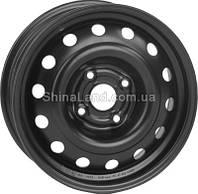 Стальные диски КрКз Daewoo (черный) 5.5x14/4x100 D56.6 ET49 (Mist Black)