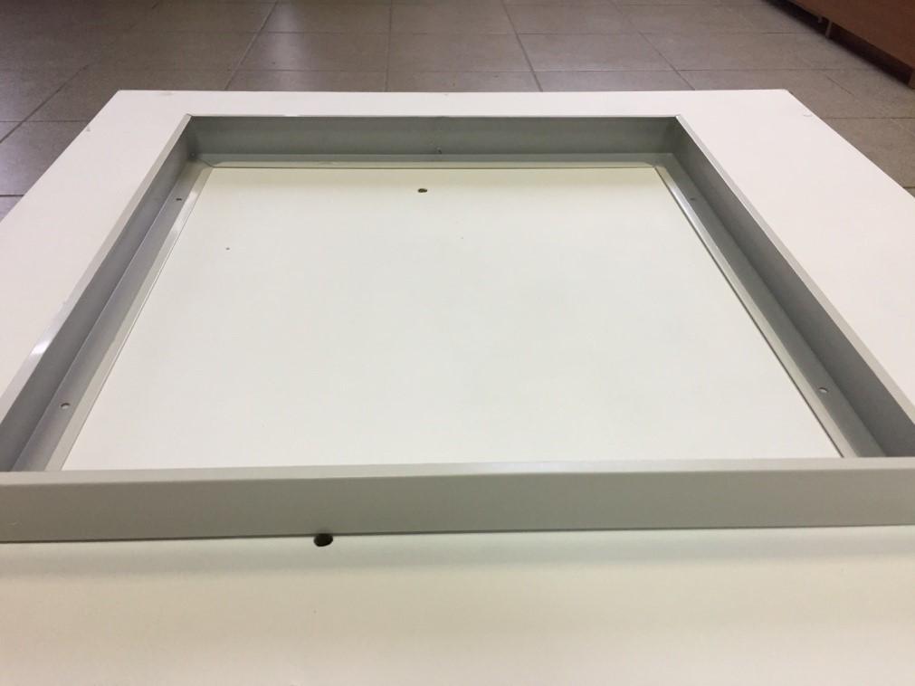 """Рамка  """"Кит-М"""" для накладного монтажа LED панелей 600х600"""