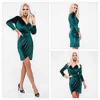 Красивое платье красивого фасона бирюза