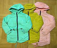 Куртки для девочек на флисе оптом Grace 134-164 см. №B70888