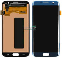 Дисплей Samsung SM-G935F Galaxy S7 Edge blue with touchscreen service orig
