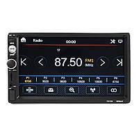 2DIN7дюймовАвтоПлеер MP5 FM Радио Bluetooth Задний камера USB TF Aux RC Сенсорный экран