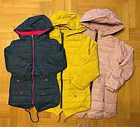 Куртки для девочек на флисе оптом Grace 116-146 см. №B70886