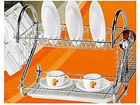 """Сушилка для посуды два яруса 53 см МН-0318 """"STENSON"""""""