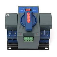 2P 63A Микропроцессорный автоматический выключатель MCV Тип Автоматический переключатель передачи двойной мощности