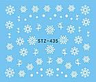 Слайдер дизайн, наклейки снежинки, фото 2