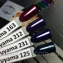 Гель-лак Haruyama №163 (вишнево-фиолетовый с микроблёстками), 8 мл, фото 2