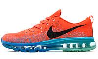 "Мужские кроссовки Nike Air Flyknit Max 2014 ""Bright Crimson"""