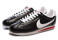 Кроссовки мужские Nike cortez черно-белые