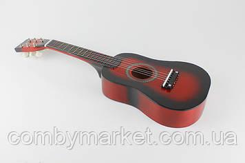Гитара M 1369 деревянная красная