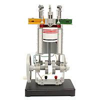 Дизель Двигатель Модель 31009 Принцип работы Физический эксперимент Внутреннее сгорание Двигатель Испытание Инструмент