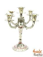 Подсвечник из бронзы на 5 свечей