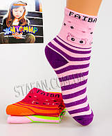 Детские носки на девочку TL-001 1-3 14-17 cm. В упаковке 12 пар., фото 1