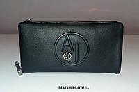 Клатч мужской ARMANI 66085-3 чёрный, фото 1
