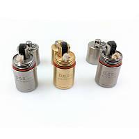 DQG Зажигалка 2.0 Нержавеющая сталь / Латунь / Титан Супер мини-зажигалка Чехол
