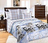 Комплект постельного белья Хаски Клетка (бязь, 100% хлопок), фото 1