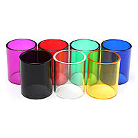 22x26.5 мм Цветная прозрачная прозрачная пирекс-стекло Трубка Втулка для подвода Mega
