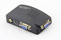Конвертор AV в VGA (RCA, S-Video to VGA), 5V~19V