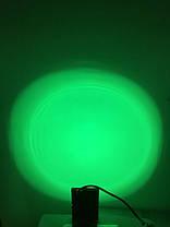 Светодиодный линзованый прожектор SL-10Lens 10W зеленый IP65 Slim Код.59142, фото 3