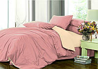 Комплект постельного белья Сатин однотонный, микс №132+№169