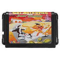 16bit Cheese Cat-Astophe Играющий в игру игровой картридж для Sega Mega Drive