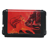16-разрядная черная карта The Lion King Game Cartridge для Sega Mega Drive Console