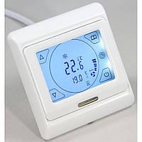 Терморегулятор программируемый In-Term E91 сенсорный недельный для теплого пола с датчиками