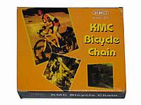Велосипедная цепь ТМ KMC Z30, хром. запчасти для велосипедов интернет магазин